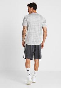 adidas Performance - T-Shirt print - medium grey - 2