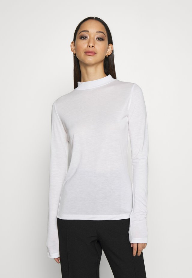 ALLEGRA - Long sleeved top - ivory