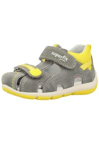 Superfit - Baby shoes - grey/yellow - 2