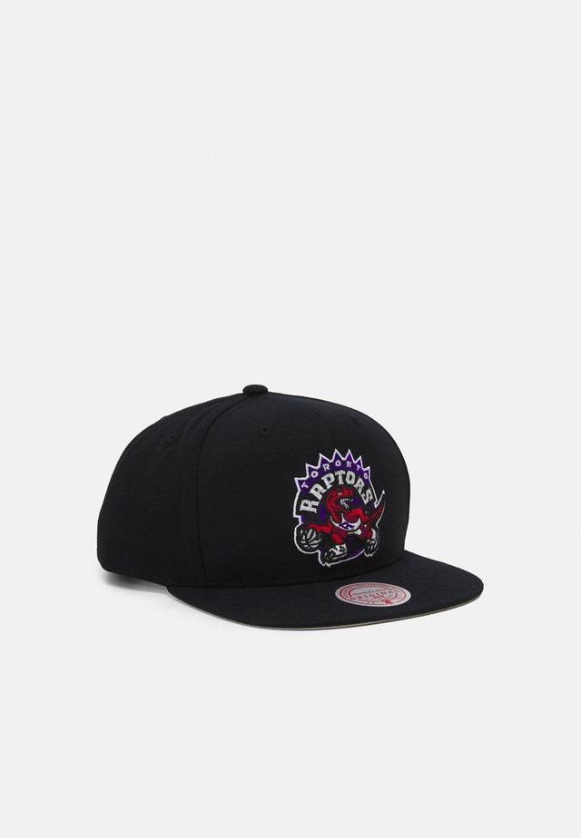 NBA TORONTO RAPTORS SOLID SNAPBACK - Caps - black