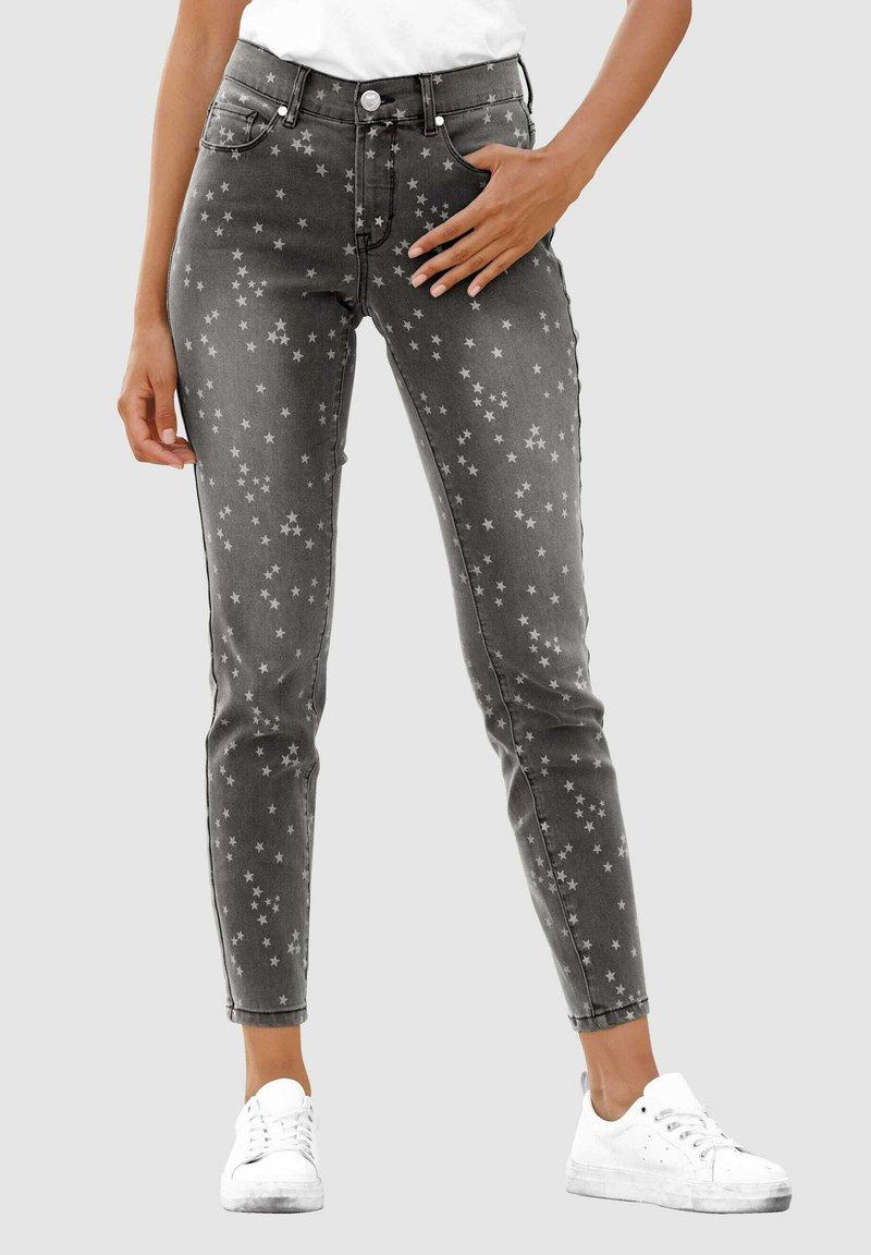 Laura Kent - Slim fit jeans - black