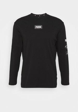 REBEL TEE - T-shirt à manches longues - black