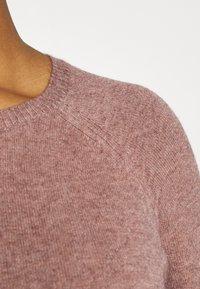 ONLY - LESLY KINGS - Jumper - rose brown/melange - 5