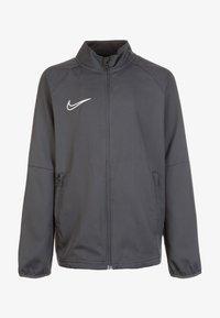 Nike Performance - DRY ACADEMY - Training jacket - anthracite/white - 0