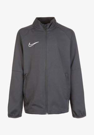 DRY ACADEMY - Trainingsjacke - anthracite/white