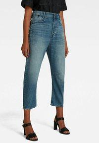 G-Star - BOYFRIEND CROPPED - Straight leg jeans - faded tide - 0