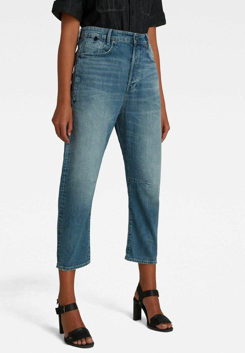 G-Star - BOYFRIEND CROPPED - Straight leg jeans - faded tide