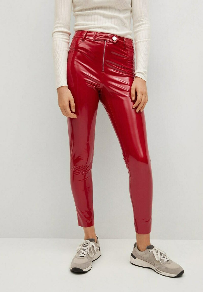 Mango - ESTHER-I - Trousers - rood