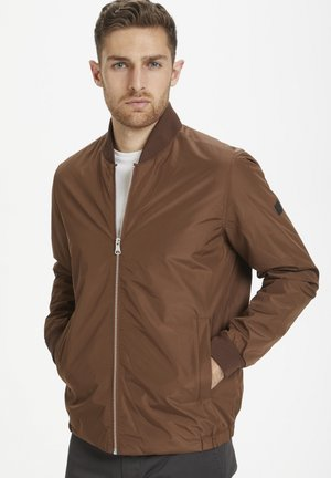 MABROOME - Bomber Jacket - rust brown