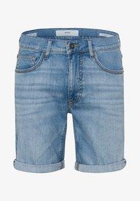BRAX - STYLE CHRIS B - Denim shorts - vintage blue used - 4