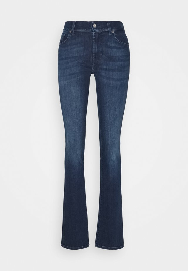 EXCLUSIVITY - Bootcut jeans - dark blue