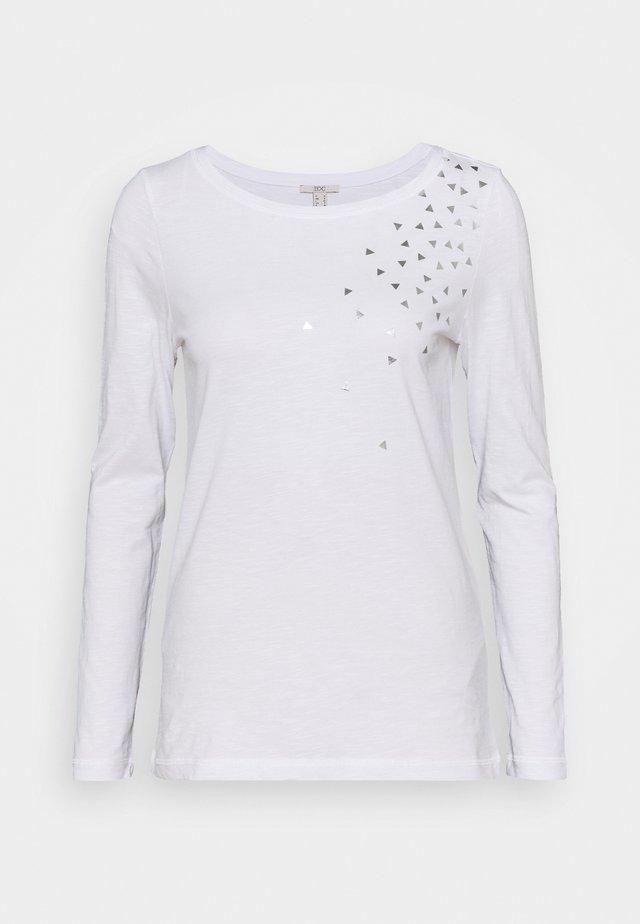 CORE - Långärmad tröja - white