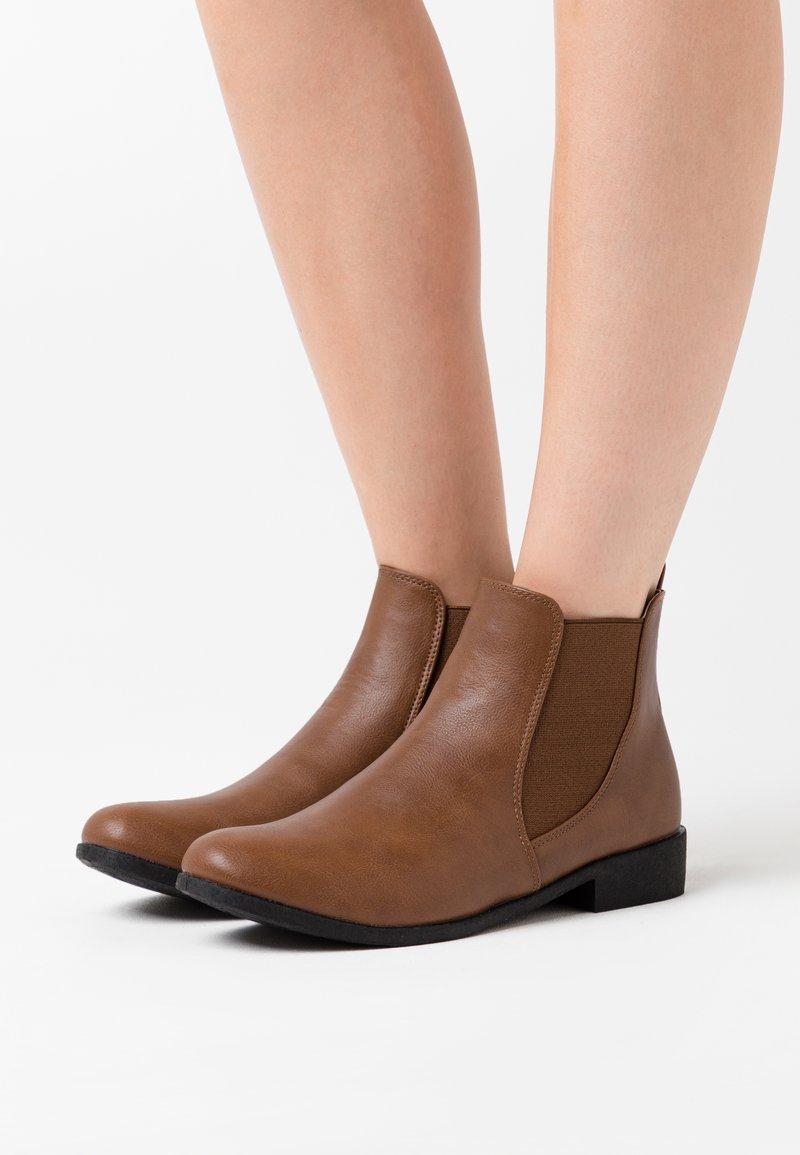 Anna Field - Kotníková obuv - cognac