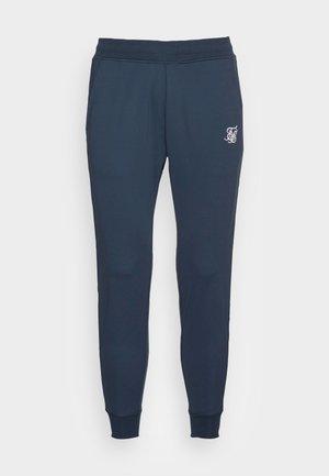 STATUS TAPE CUFFED PANTS - Pantaloni sportivi - navy