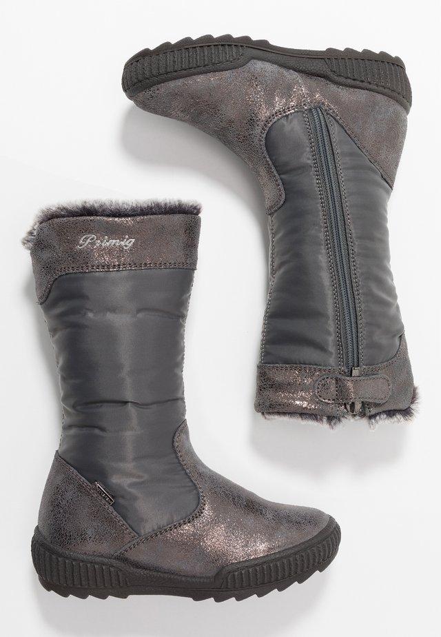 Winter boots - antracite/grigio