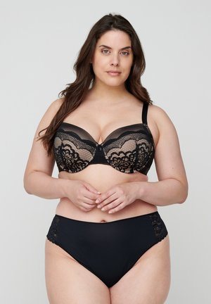 Underwired bra - sand