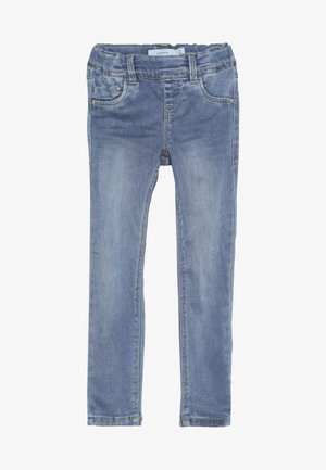 NKFPOLLY - Jegginsy - medium blue denim