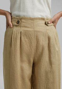 Esprit - Trousers - sand - 4