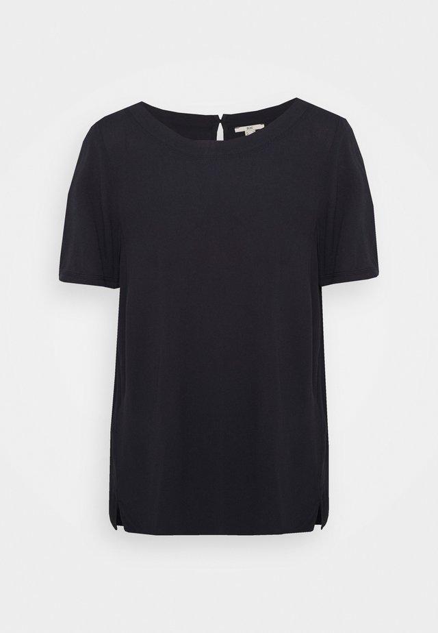 BLOUSE - Basic T-shirt - navy