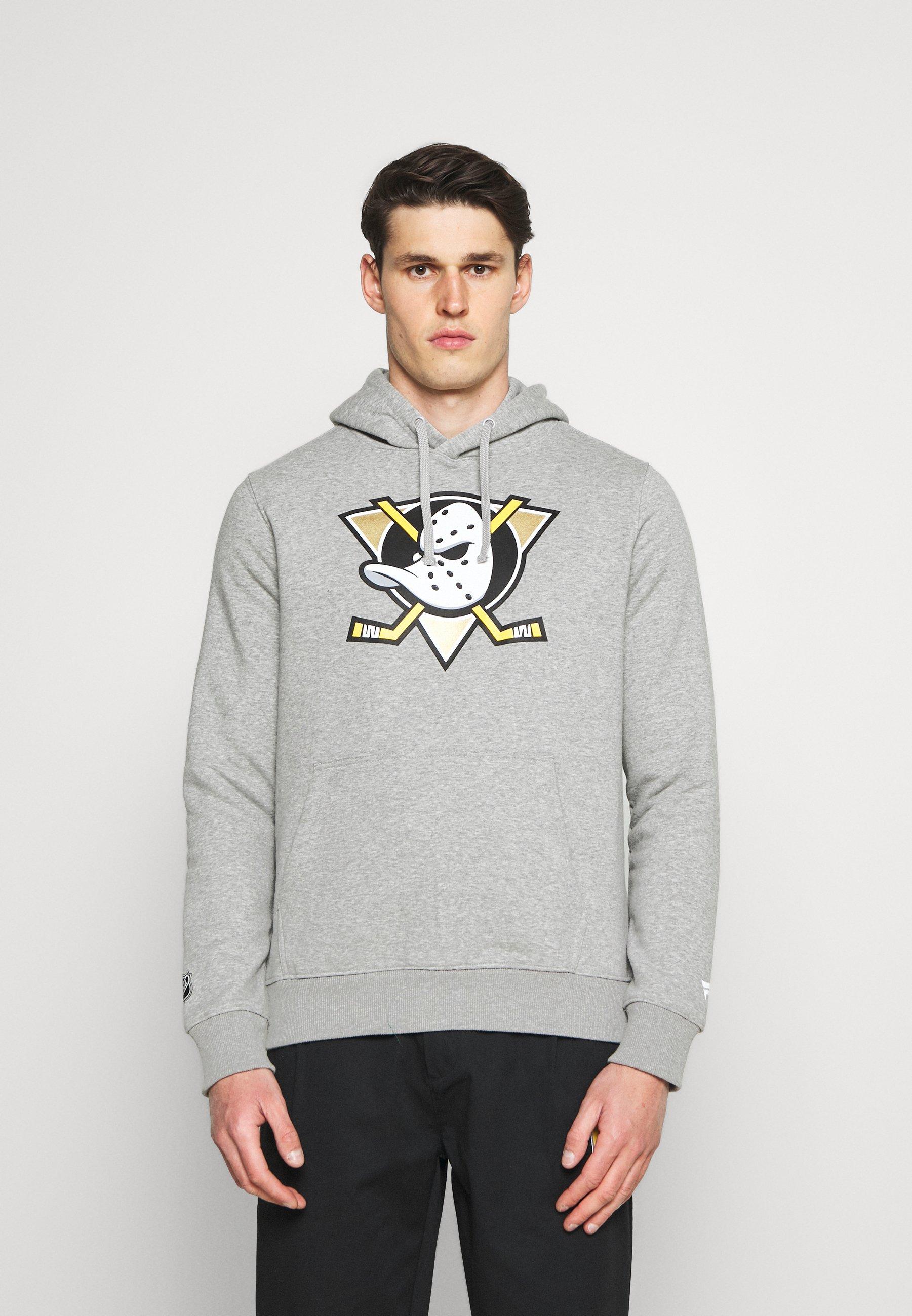 Men NHL ANAHEIM DUCKS MID ESSENTIALSSECONDARY COLOUR LOGO GRAPHIC  - Sweatshirt