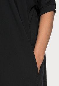 Marc O'Polo - DRESS SHORT LENGTH - Day dress - dusty black - 4