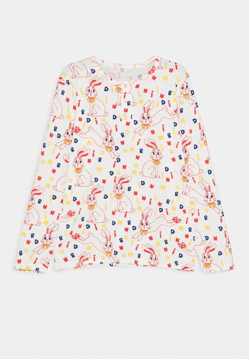 Mini Rodini - RABBIT GRANDPA UNISEX - T-shirt à manches longues - offwhite