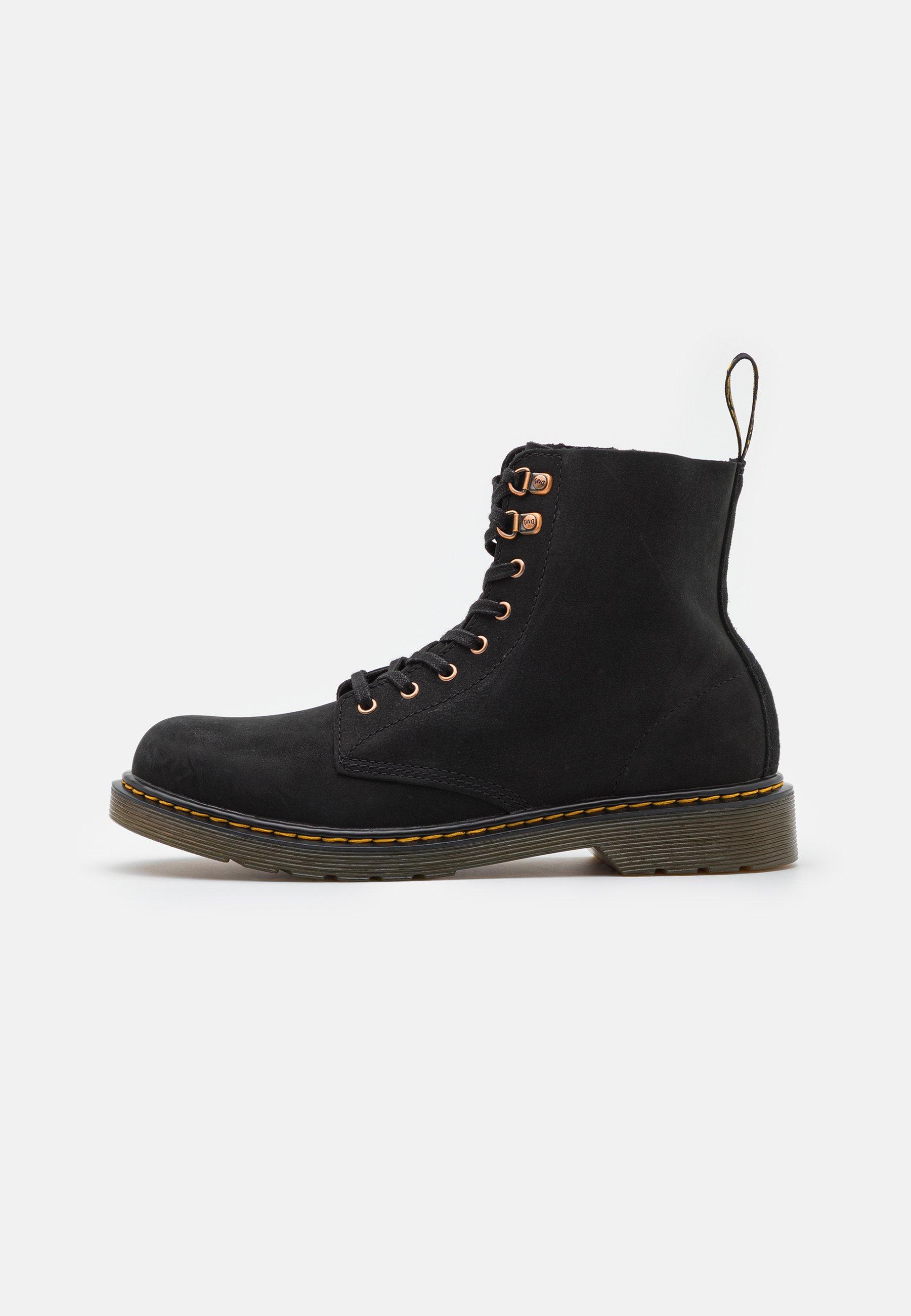 Kids 1460 PASCAL UNISEX - Lace-up ankle boots - black