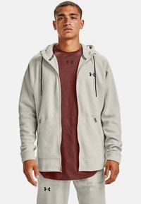 Under Armour - Zip-up hoodie - summit white - 0
