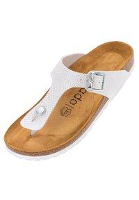 Palado - PALADO KOS - T-bar sandals - weiß dots - 1
