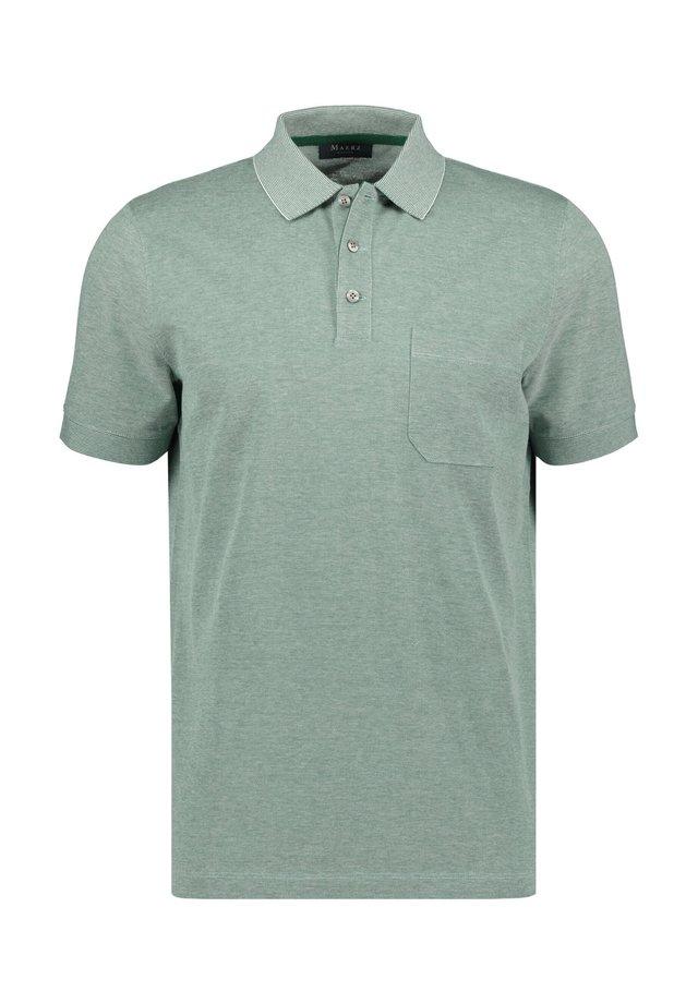 Polo shirt - smaragd (42)