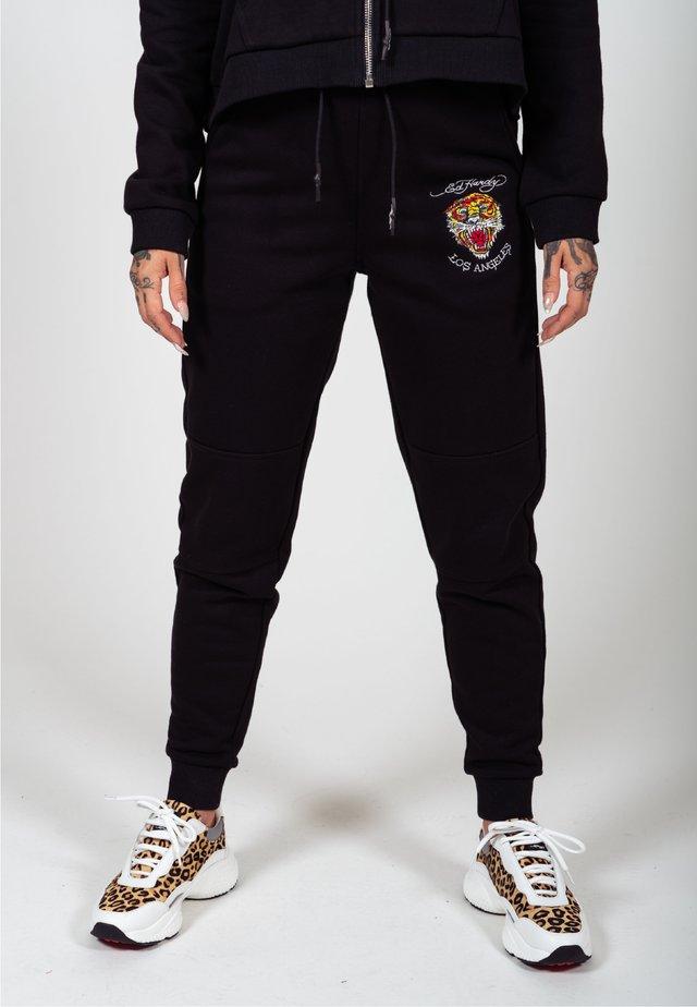 VINTAGE ROAR JOGGER - Pantaloni sportivi - black