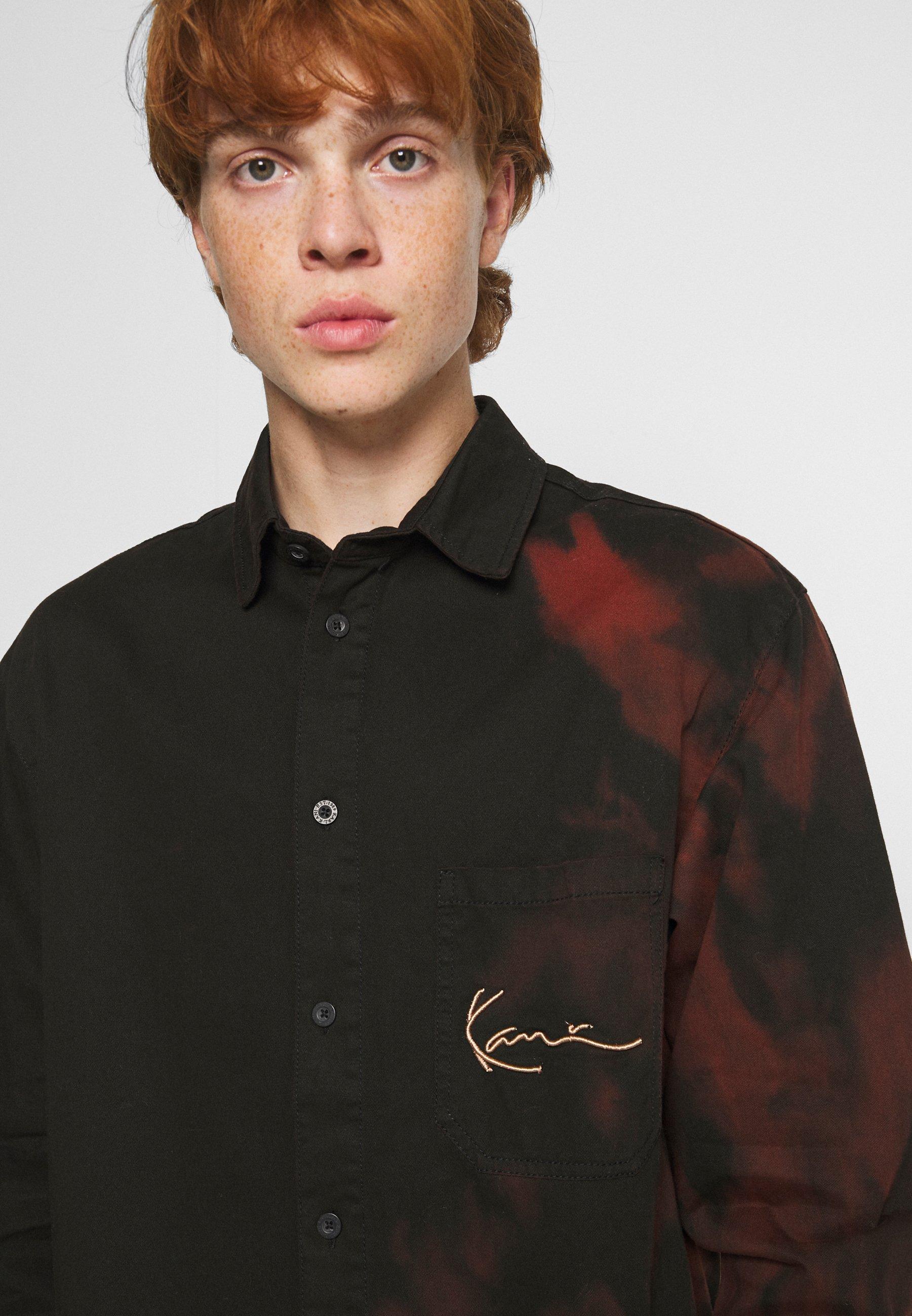 Men SMALL SIGNATURE BLEACHED SHIRT - Shirt
