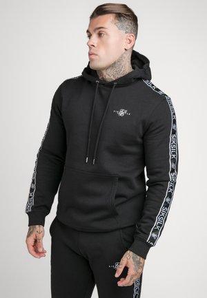 SIKSILK  OVERHEAD HOODIE - Jersey con capucha - black