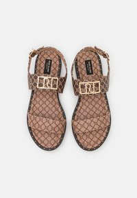 River Island Wide Fit - Sandály - brown - 4