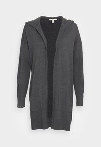edc by Esprit - LONG HOODED - Cardigan - anthracite - 3