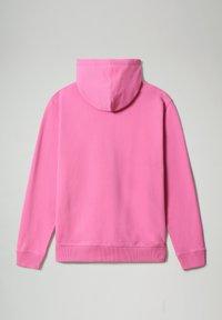 Napapijri - B-BOX HOODIE - Luvtröja - pink super - 6
