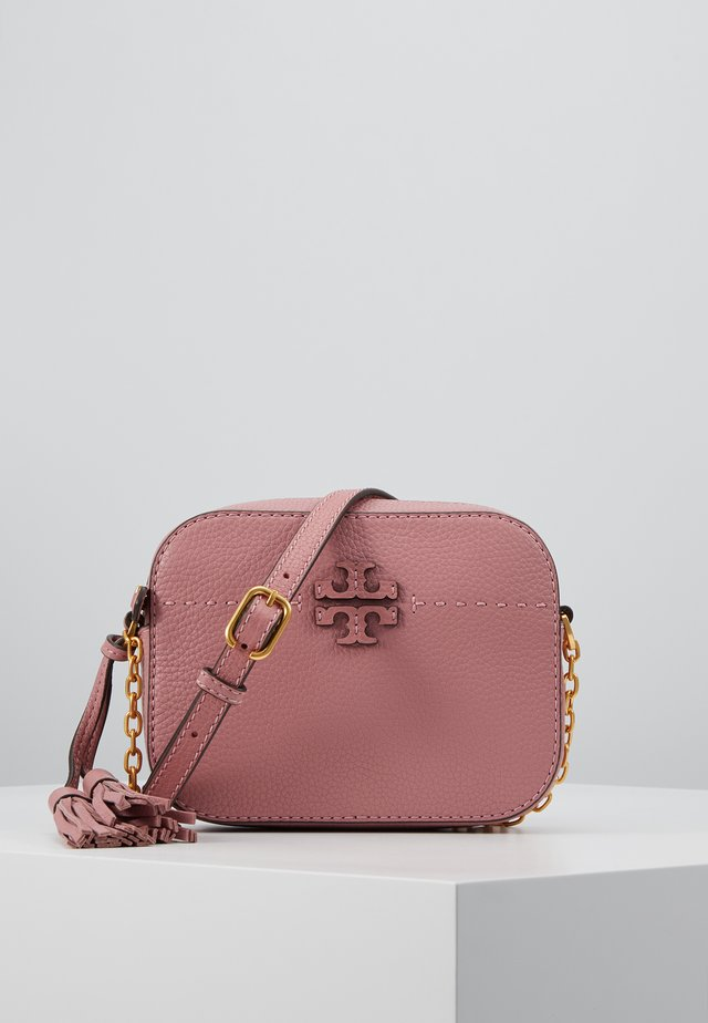 MCGRAW CAMERA BAG - Across body bag - pink magnolia