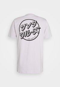 Santa Cruz - JAPANESE DOT EXCLUSIVE UNISEX - T-shirt imprimé - lavander - 7