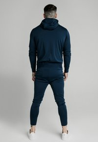 SIKSILK - AGILITY ZIP THROUGH HOODIE - Giacca sportiva - navy