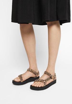 MIDFORM UNIVERSAL - Chodecké sandály - black