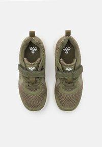 Hummel - ACTUS JR UNISEX - Sneakers - deep lichen green - 3