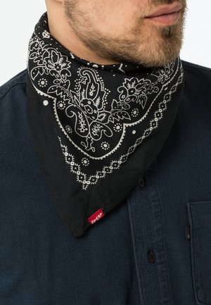 PAISLEY BANDANA - Foulard - regular black