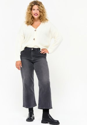 Straight leg jeans - dnm - dark grey