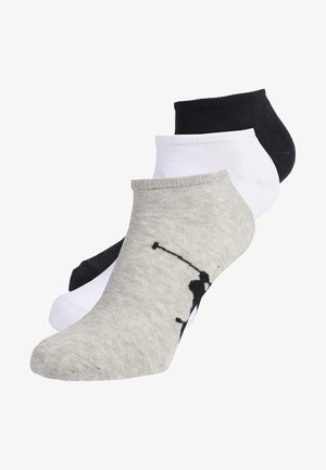 SOLE 3 PACK - Trainer socks - assorted