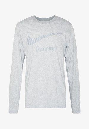 DRY TEE RUN - Tekninen urheilupaita - dark grey heather