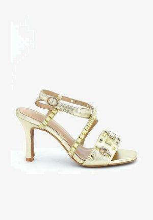 ESMERALDA - High heeled sandals - gold