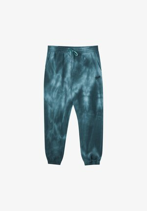 Tracksuit bottoms - dark green