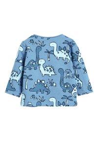Next - BLUE 3 PACK DINOSAUR T-SHIRTS (0MTHS-3YRS) - Langærmede T-shirts - blue - 4