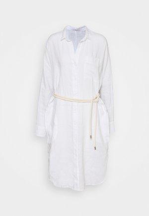 DRESS - Abito a camicia - optical white