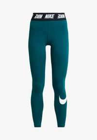 Nike Sportswear - CLUB  - Leggings - Hosen - midnight turq/white - 4
